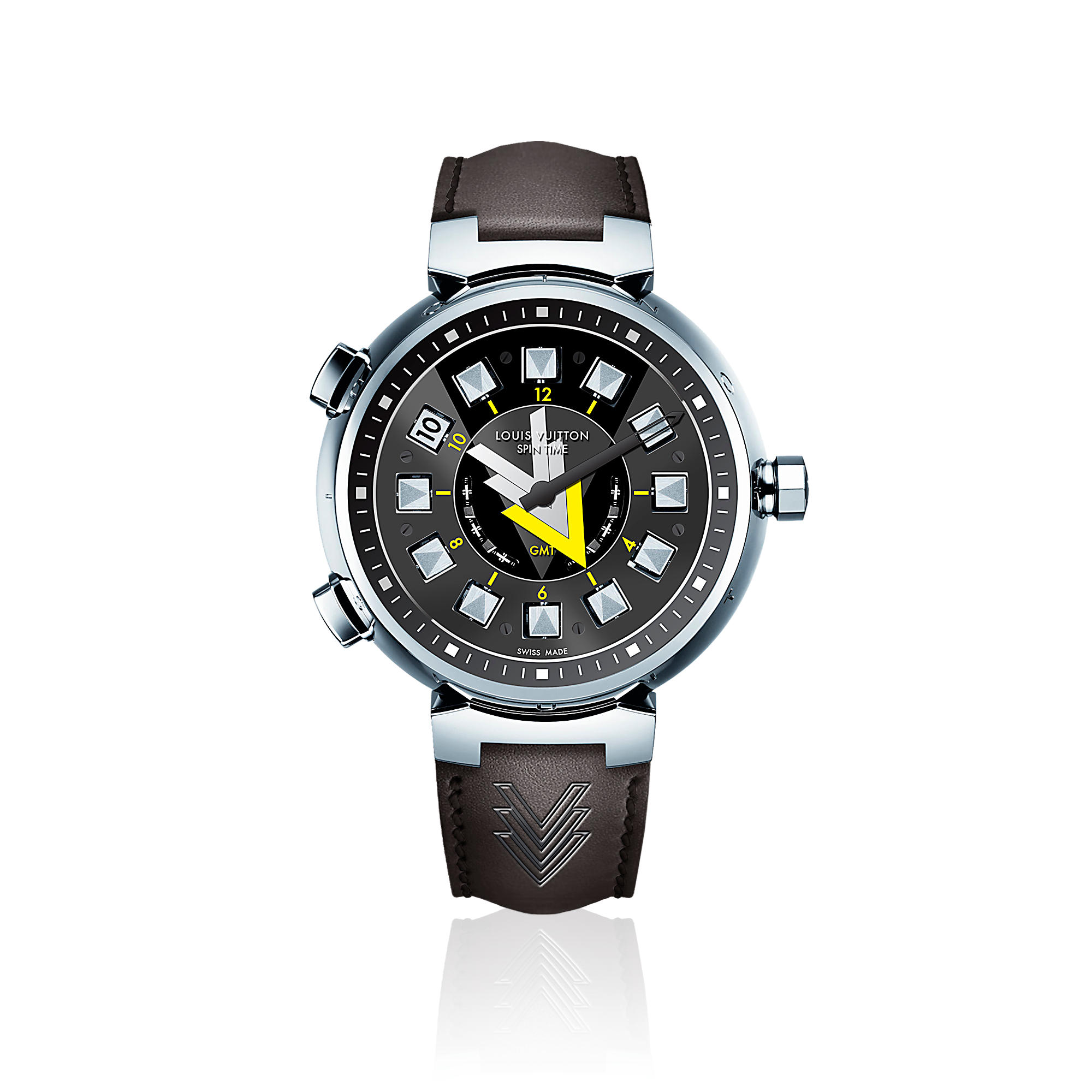 Tambour VVV Spin Time GMT Q10C60