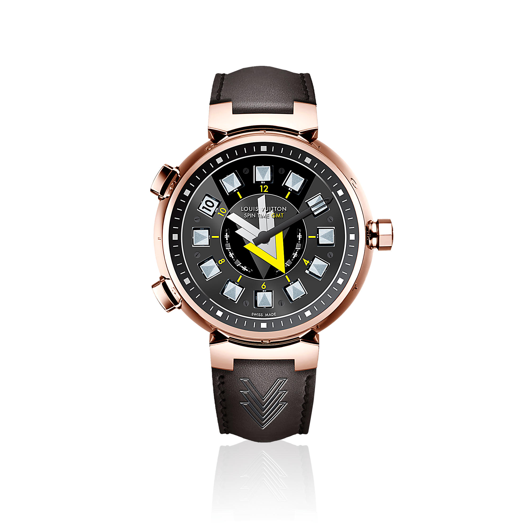 Tambour VVV Spin Time GMT Q10C70