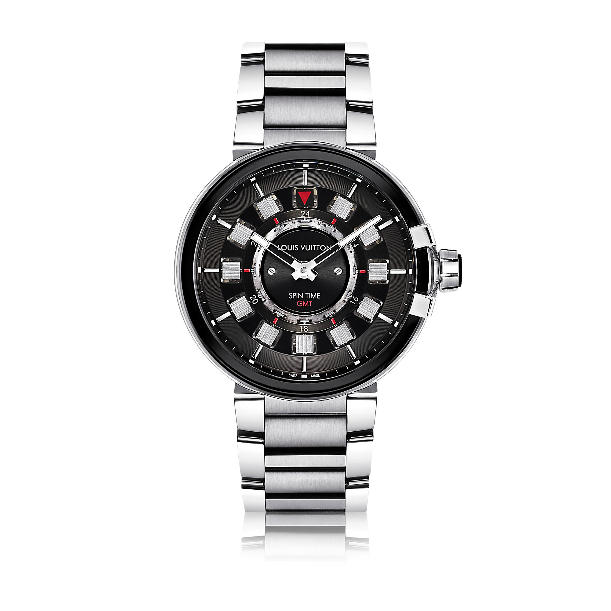 Tambour Evolution Spin Time GMT Q10C00