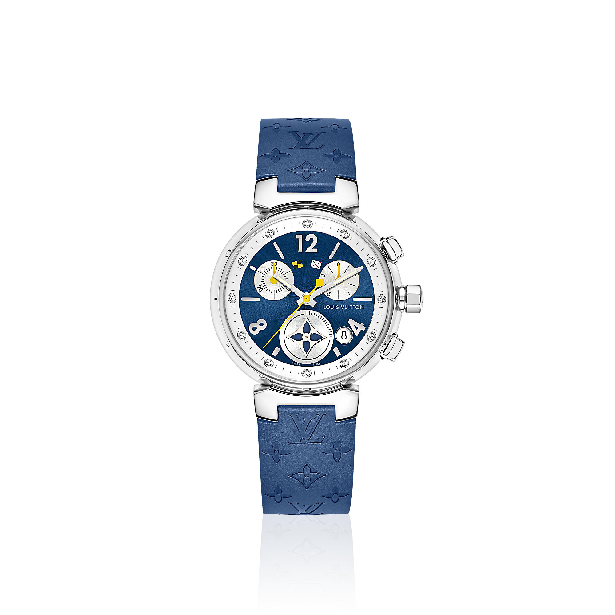 Tambour Lovely Cup Navy Chronograph  Q132D0