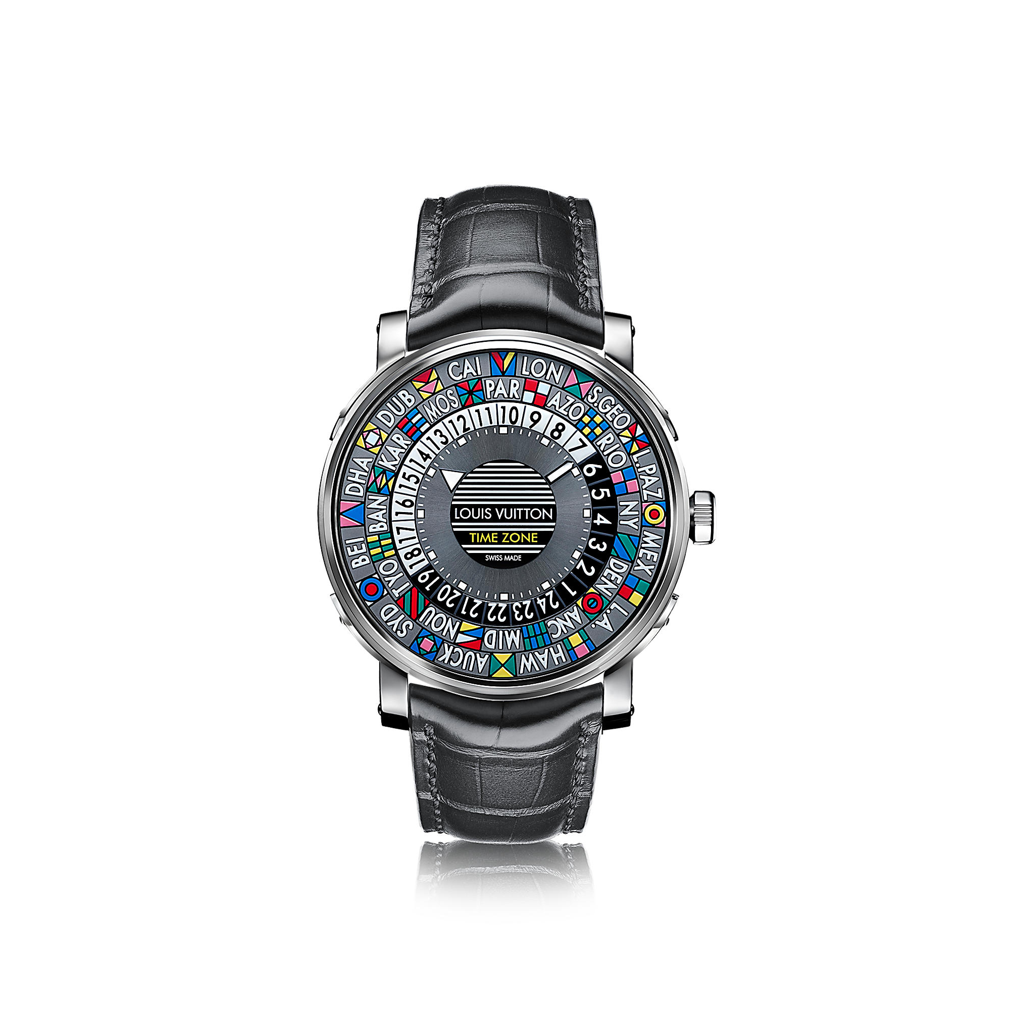 Часы Escale Time Zone Q5D200
