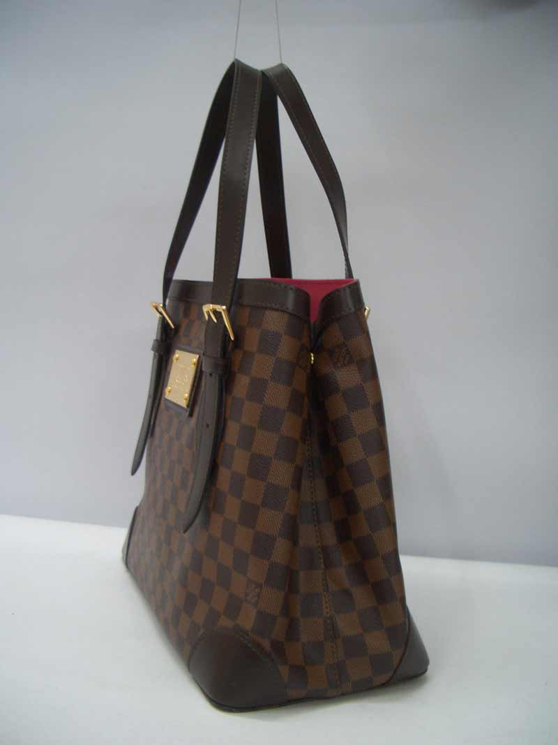 LV Damier Eben Canvas Hampstead GM  N51204