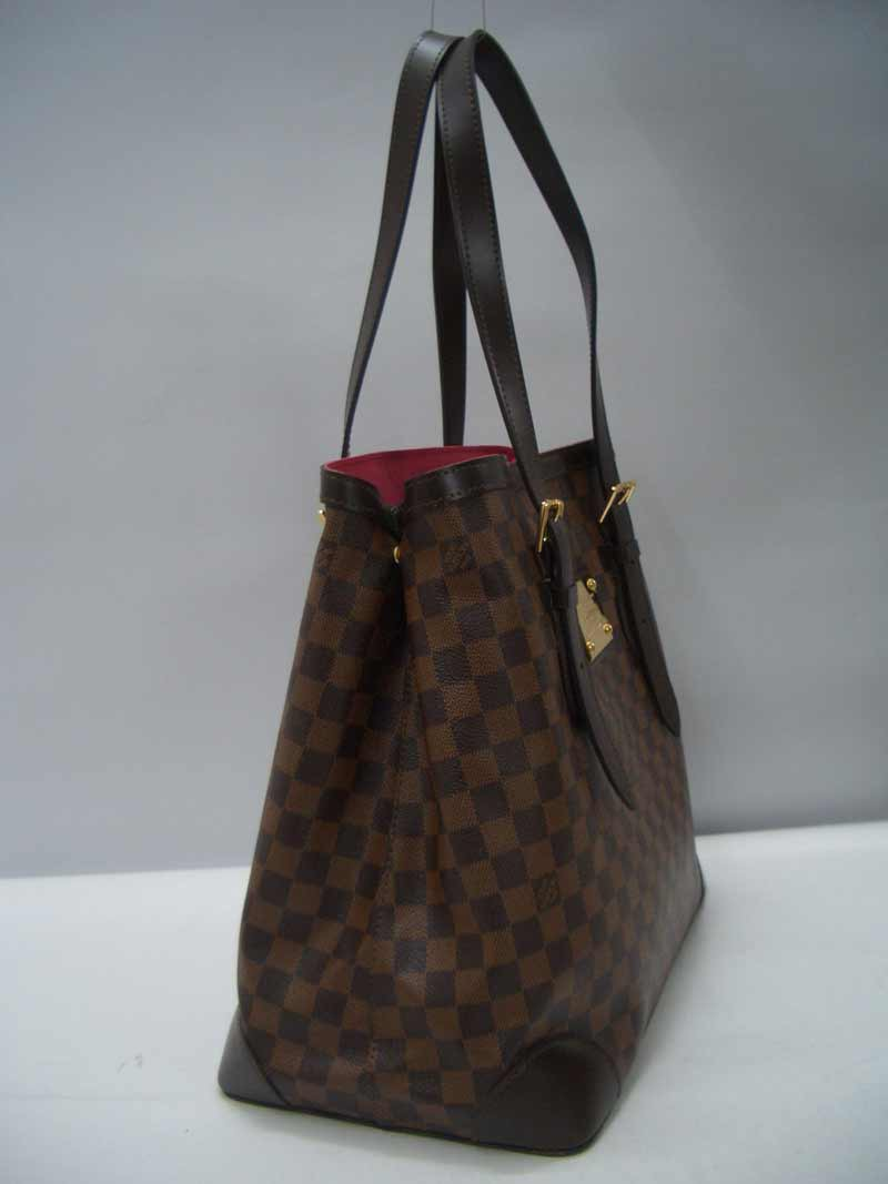 LV Damier Eben Canvas Hampstead MM  N51203