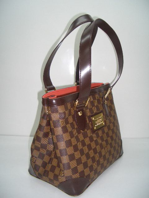 LV Damier Eben Canvas Hampstead PM  N51205