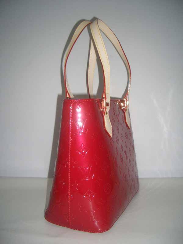 LV Monogram Vernis Houston Red  M91122