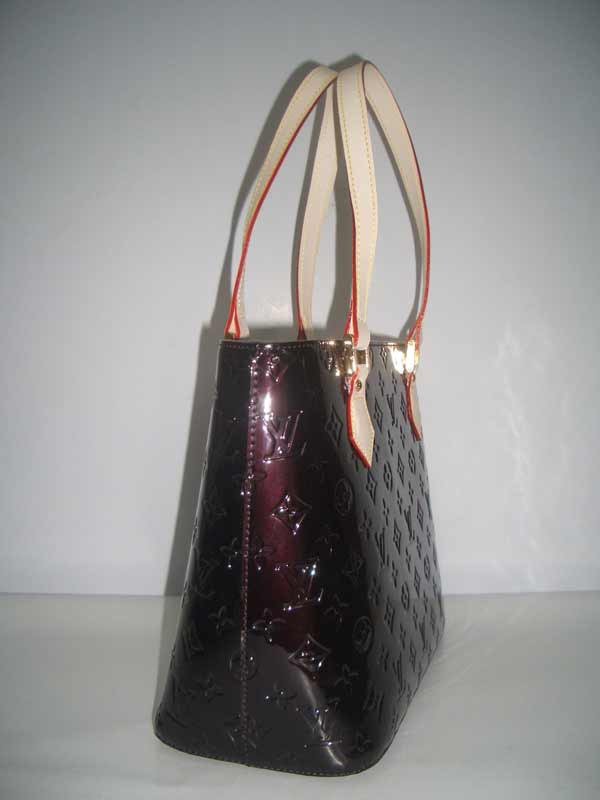 LV Monogram Vernis Houston Amarante  M91122